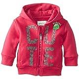 Diesel Baby-Girls Newborn Sufob Zip Hoodie Soft Wash Sweatshirt