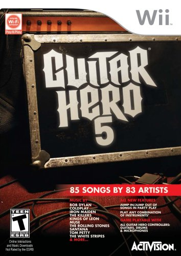 Guitar Hero 5 - Nintendo Wii (Game Only) front-313668