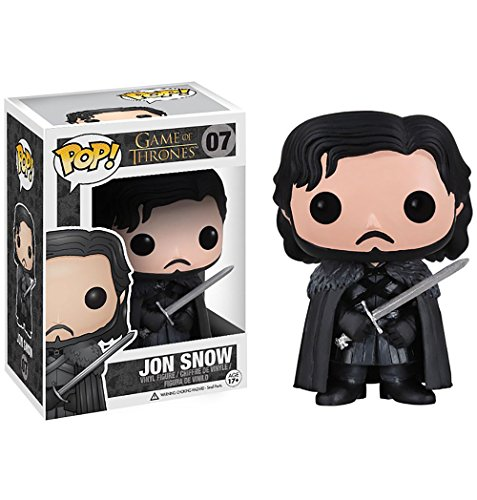 Jon Snow: Funko POP! x Game of Thrones Vinyl Figure - 1