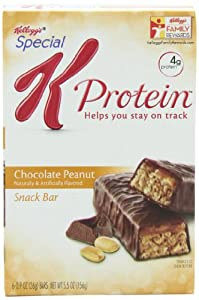 Special K Chocolate Peanut Protein Snack Bar, 0.9 Ounce, 6 Count (Pack of 3)