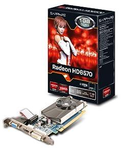Sapphire HD6570 Carte graphique 1 Go GDDR3 PCI-E HDMI, DVI