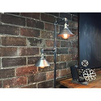 Industrial Floor Lamp - Edison Bulb Pendant