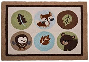"Carter's Forest Friends 30"" X 40"" Rug (Discontinued by Manufacturer)"