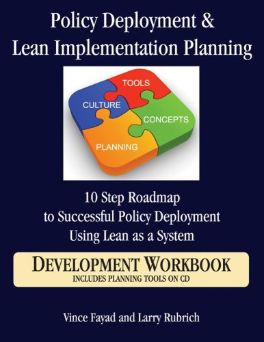 Policy Deployment & Lean Implementation Planning: