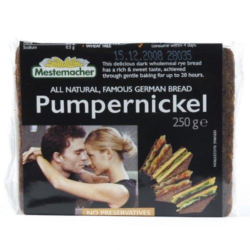 Mestemacher Pumpernickel Bread (250G) Vegan