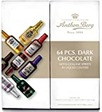 Anthon Berg Dark Chocolate Liqueurs with Original Spirits - 64 pcs. Gift Box (2.2 lbs)
