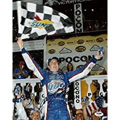 Kurt Busch Signed Photograph - 11x14 #u23593 - PSA DNA Certified - Autographed NASCAR... by Sports Memorabilia