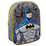 Batman Marvel Character Backpack in 3d Boy School Bag