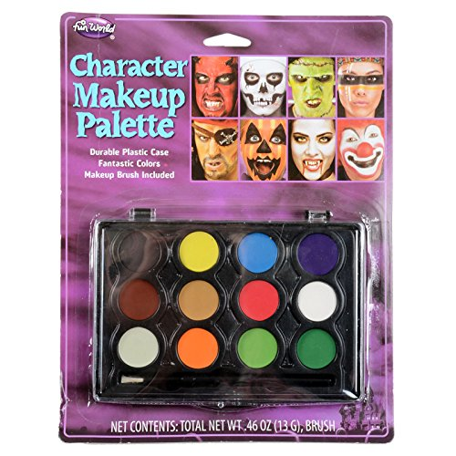 Fun World Direct Imports 12 Color Makeup Palette - 1