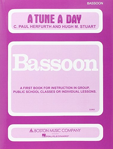 A Tune a Day for Bassoon: Book 1