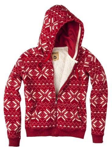 Roxy Cold Night Women's Sweatshirt Kashmir Red