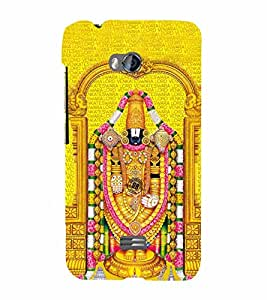 Lord Venkateswara Cute Fashion 3D Hard Polycarbonate Designer Back Case Cover for Micromax Bolt Q336