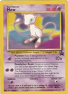 Pokemon - Mew (8) - Wizards Black Star Promos