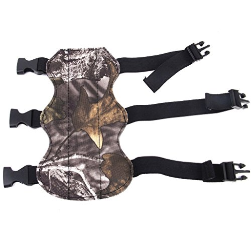 cabela-archery-arm-guard-bow-and-arrow-protective-gears-3-straps-leather-camouflage-for-hunting-shoo
