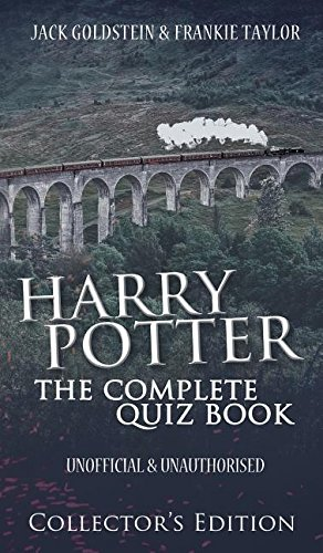 Harry Potter Book Quizzes : Harry potter the complete quiz book collector s edition