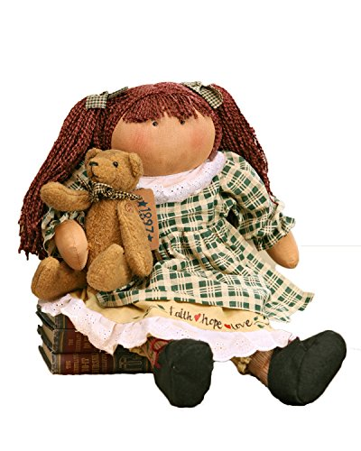 Your Hearts Delight Charity with an Old Friend Doll Decor, 19-Inch