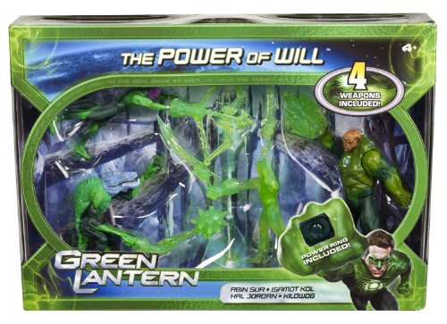 Green Lantern The Power of Will Figure 4-Pack