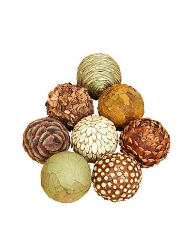 Set of 8 Natural Ball Fillers