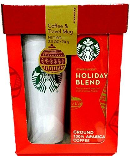 starbucks-travel-mug-and-holiday-blend-coffee-set
