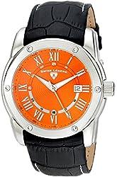 Swiss Legend Men's 10005Q-06 Traveler Analog Display Swiss Quartz Black Watch