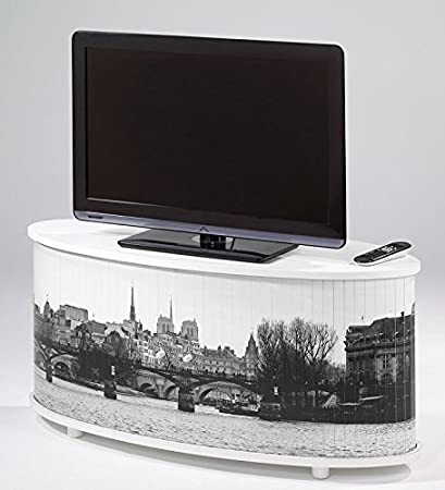 Mobile TV, banchina Senna di Parigi, colore: bianco