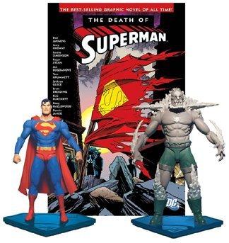 Superman DC Direct Collector's Set Superman Vs. Doomsday