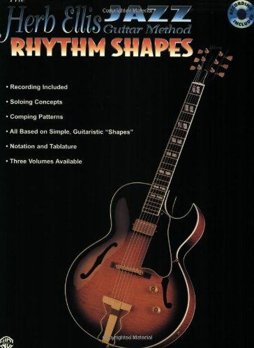 The Herb Ellis Jazz Guitar Method: Rhythm Shapes, Book and CD