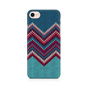 PRINTASTIC Knit Print Premium Printed Mobile Back Case Cover For Apple iPhone 7
