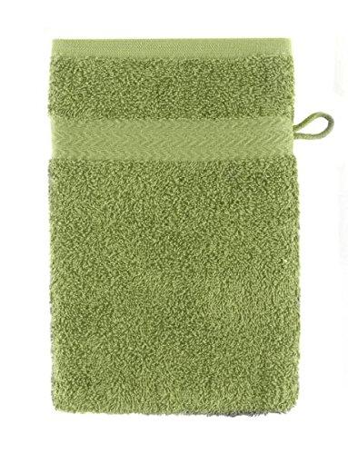 Guanto da bagno premium colore verde mela misure 17 x 21 - Bagno verde mela ...