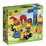 LEGO DUPLO Town 10518 My First Construction Site Building Set