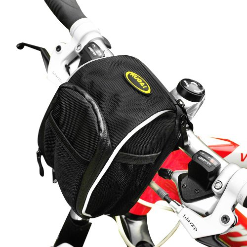 CoolChange Bicycle Handlebar Bag Cycling Bike Front Tube Basket Multifunction Waist Bag/seat Bag Saddle Outdoor Pouch