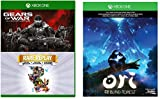 Xbox One 1TB Console - 3 Games Bundle (Gears of War: Ultimate Edition + Rare Replay + Ori and the Blind Forest)