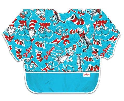 Bumkins Waterproof Art Smock - Dr. Seuss Cat In The Hat