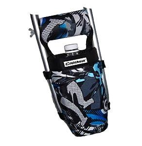 Amazon.com: Crutcheze Blue Graffiti Tattoo Crutch Bag, Pouch, Pocket