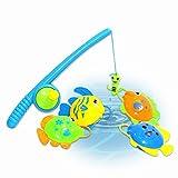 A-FOREST 4pcs del juguete del baño de pesca con disfrutar de baños de Funtime Juego de pesca Gran regalo para los niños de las muchachas por 3 Años de Edad Educación Temprana