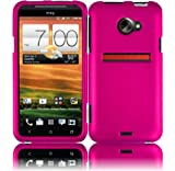 Hot Pink Hard Case Cover for HTC Evo 4G LTE