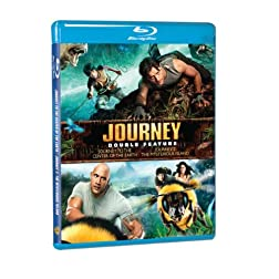 Journey to the Center of the Earth / Journey 2 [Blu-ray]