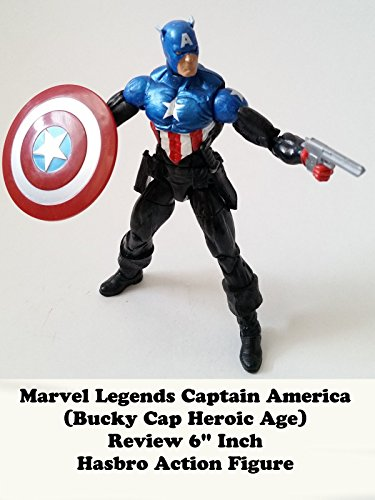 "Marvel Legends CAPTAIN AMERICA (Bucky Cap Heroic Age) Review 6"" inch Hasbro action figure toy"
