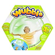 The Amazing WUBBLE Bubble Ball – Looks like a bubble, plays like a ball! Green