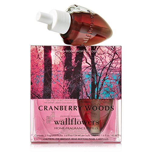 Bath & Body Works Wallflowers Home Fragrance Refill Bulbs Cranberry Woods (Cranberry Woods compare prices)