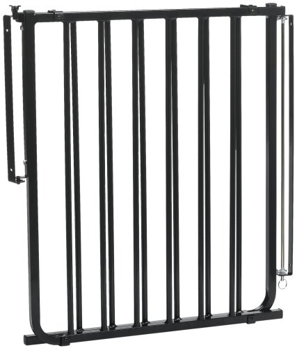 Cardinal Pet Gates Stairway Special Pet Gate, Black, SS-30 (Outdoor Stairway Gate compare prices)