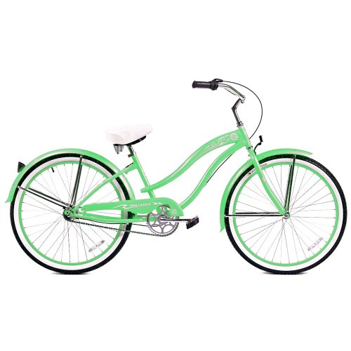 Micargi Rover NX3 Beach Cruiser Bike, Mint Green, 26-Inch
