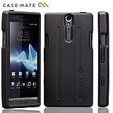 Case-Mate docomo Xperia NX SO-02D Hybrid Tough Case, Black/Blackハイブリッド タフ ケース, ブラック / ブラック CM020253
