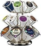 Keurig 40692 K2.0 Cup Holder Carousel, Chrome