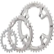 Race Face Race Chainring, 104mm, 22/32/44T, Silver