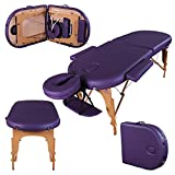 Massage Imperial Professional Lightweight Purple Orvis Portable Massage Table Couch