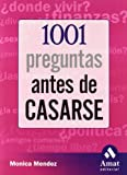 img - for 1001 Preguntas Antes de Casarse (Spanish Edition) book / textbook / text book