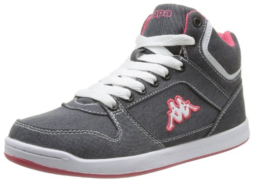 Kappa Women's Udele Trainers Gray Gris (Grey/Pink) 5 (38 EU)