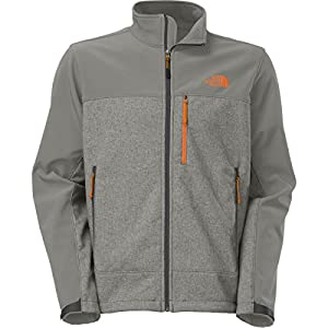 The North Face Apex Bionic Jacket for Men (Medium, Sedona Sage Grey Heather/Asphalt Grey) by The North Face