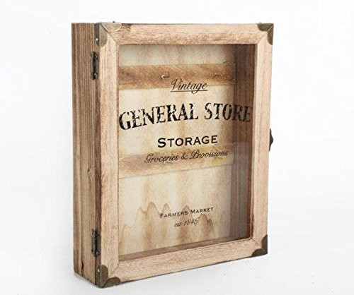 Rustico Vintage General Store-Cassetta portachiavi. House Ganci. Shabby Chic
